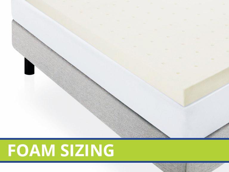 Absolute Foam [BCI Group]   Click >> Foam Sizing